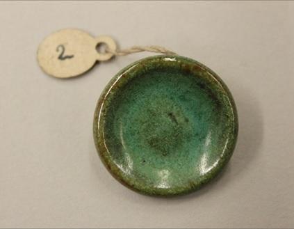 Lucie Rie, Stoneware button, ca.1940-45, C.41-2017.