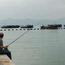 Fishing continues in town