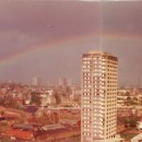 Part of a series of panoramic photos taken by a resident from the 20th floor of Frinstead House. © Nahid.