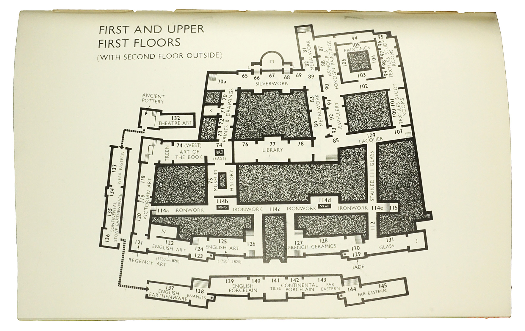 Best laid plans: mapping the V&A by Andrew McIlwraith ...