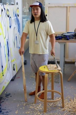 Nao Matsunaga, Ceramic Artist in Residence. © Constantine Gras