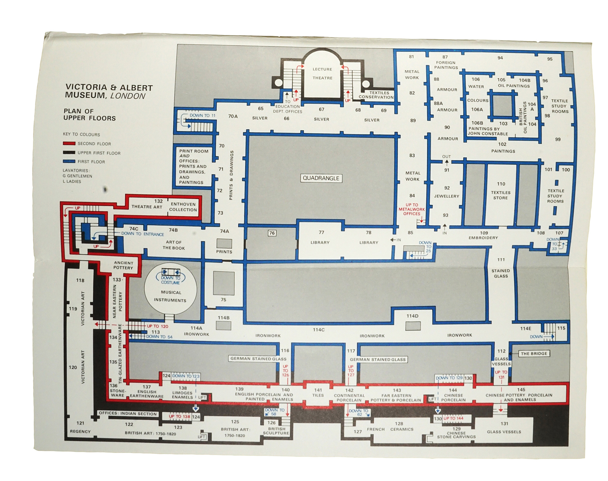Best laid plans: mapping the V&A by Andrew McIlwraith | Victoria and ...