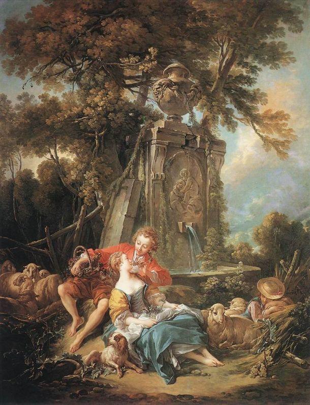 Autumn Pastoral, François Boucher, 1749. Wallace Collection