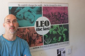 Film fan of Leo the Last. © Constantine Gras