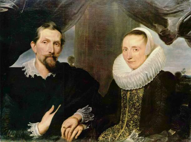 'Snyders and his wife', by Anthony van Dyck, Kassel