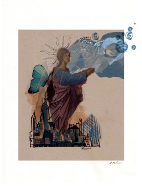 Beatrix Calow- Angel of the City1