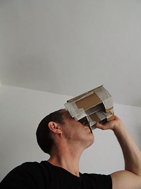 Prototype virtual reality headset