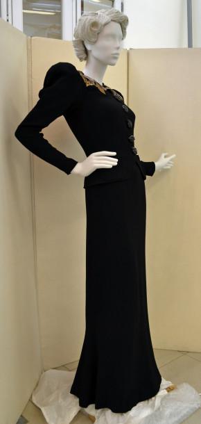 T.399&a-1974 Elsa Schiaparelli, Dress and Jacket