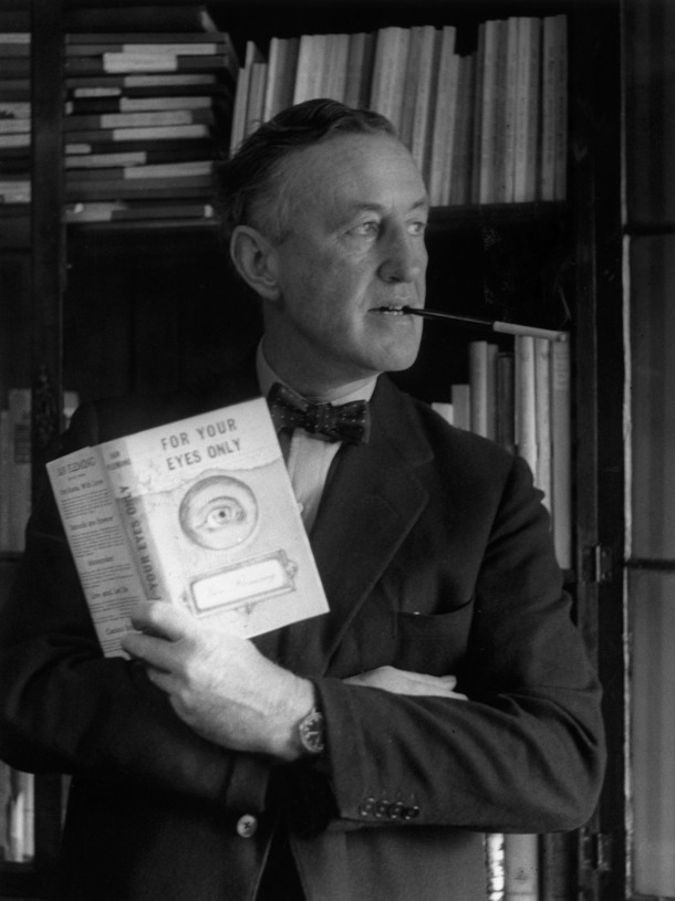 Photograph of Ian Fleming