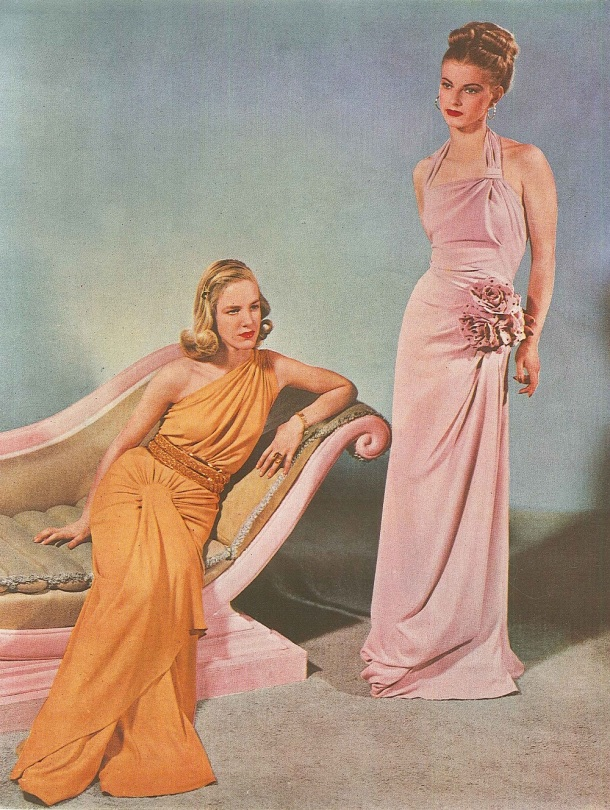 Bespoke dresses advertised around 1946; V&A Archive of Art and Design GC10/1