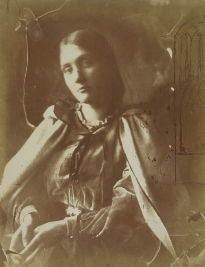 Julia Margaret Cameron, Julia Jackson, albumen print from wet collodion glass negative, 1864, England. Museum no. 213-1969 © Victoria and Albert Museum, London