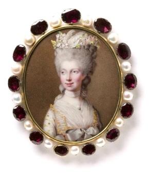 Johann Heinrich Hurter, 1781. Acquired 1982. Museum number Loan:Gilbert.242:1,2-2008