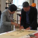 Working with the British Museum Chinese paintings conservators