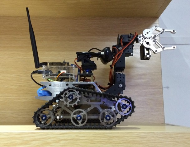 Robot tank in Chaihuo Makerspace