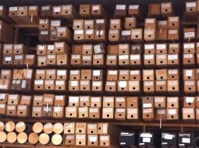 Blueprint storage, Aalto Studio. Image © Roxanne Ravenhill, 2015