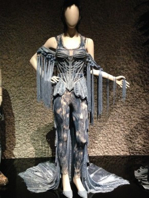 Denim outfit, Jean Paul Gaultier, Barbican. © Katherine Elliott, 2014