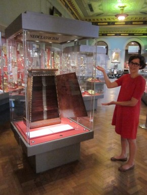 Elizabeth and the Medal Cabinet