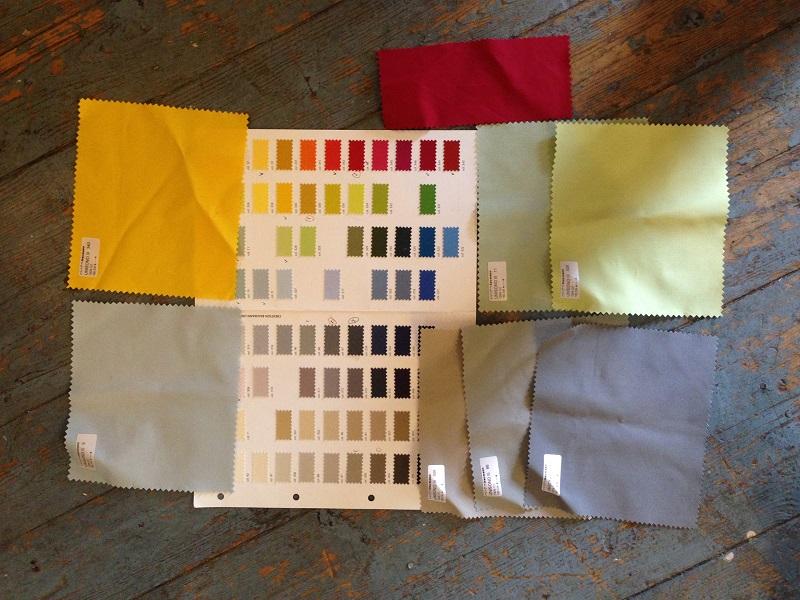 Textile samples © Gitta Gschwendtner