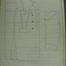 Pattern for a Chesterfield coat, ca.1911 - ca.1928. Archive of Art and Design, AAD/2008/10/1/5/3. © Victoria and Albert Museum, London