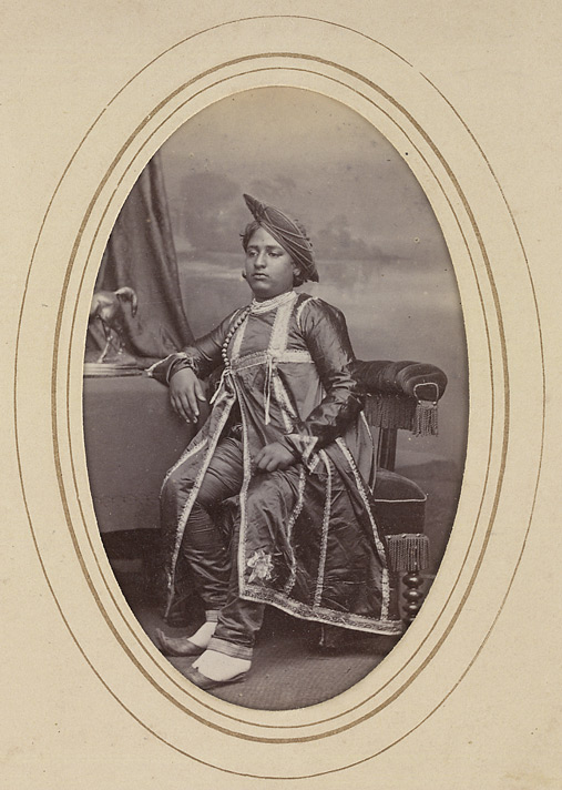KAGAL Jay Singh Rao, Raja of Kagal (1857-1886) (1870)