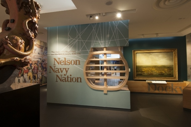 Nelson, Navy, Nation Gallery, National Maritime Museum, Greenwich.