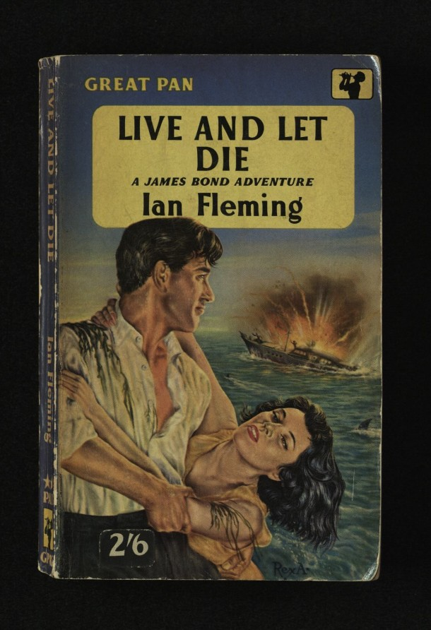 "Ian Fleming's ""Live and Let Die""."