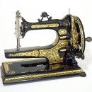 Arm and Platform sewing machine by Edward Ward, c.1875-80. M.44-1991