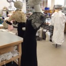 Dresses by Molyneux and Maggy Rouff in the Textiles Conservation Studio