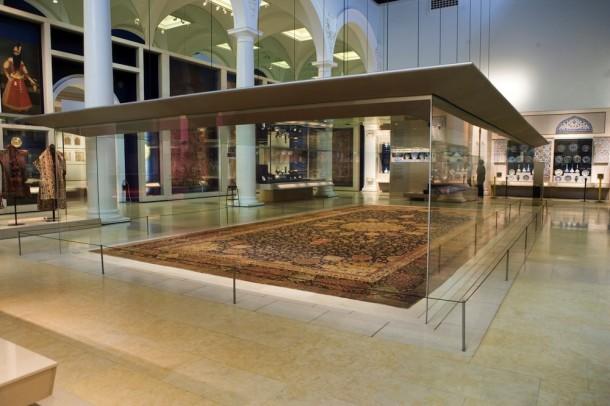 The Ardabil Carpet, Iran, 1539–40. Museum no. 272-1893 © Victoria and Albert Museum, London