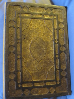 Book cover of 'The Garden of Purity', Iran, 1570–71. Museum no. MSL.1876-674 © Victoria and Albert Museum, London