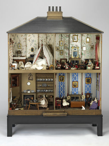 Mrs Neave's House, c1840. W.17-1930 (c) V&A Museum, London