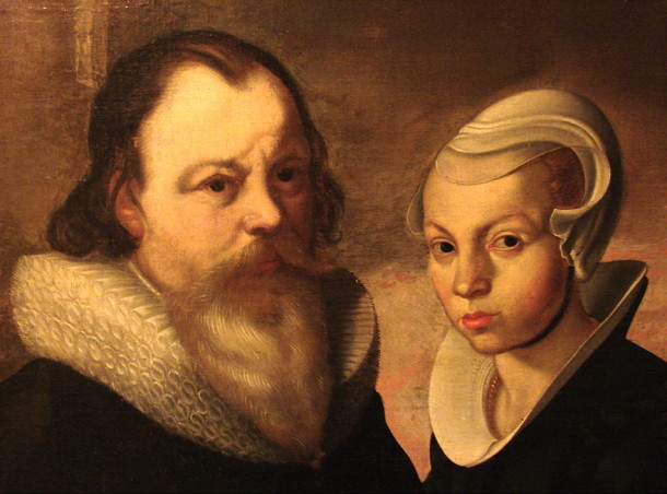 Ole Worm and his first wife Dorothea Fincke, National Museum in Copenhagen