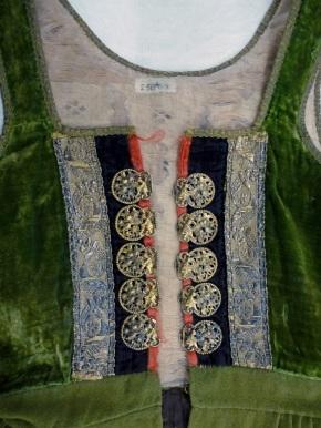 Bodice of Icelandic dress