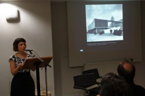 Image from the event of Livia Rezende Presenting. Victoria and Albert Museum, London.
