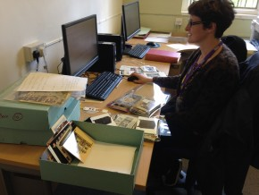 Working on the archive at V&A Museum of Childhood