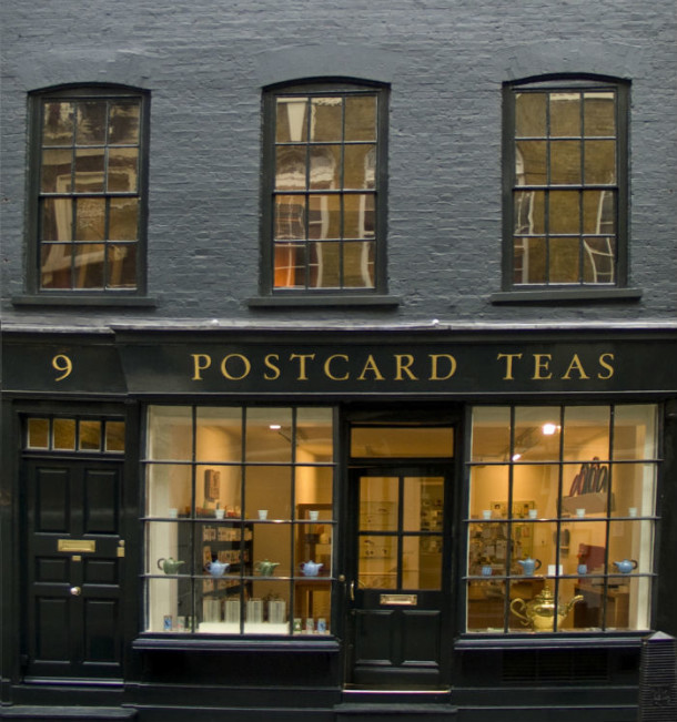 Postcard Teas, London. Courtesy of Postcard Teas