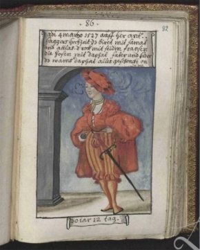 Schwarz showing his love for colour in 1527