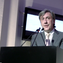 Andrew Graham Dixon speaks at the opening of Constable: The Making of a Master