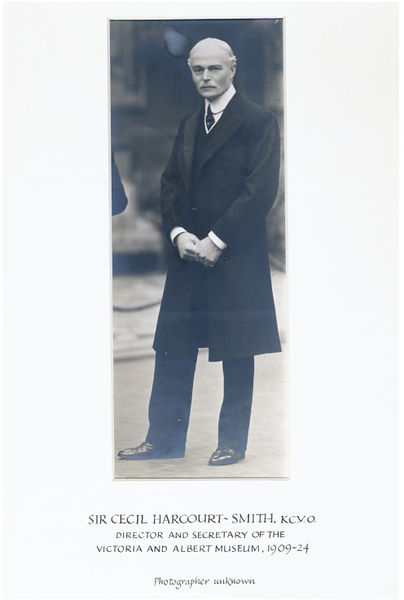 Sir Cecil Harcourt-Smith, Director of the V&A 1909-1924. E.211-2005