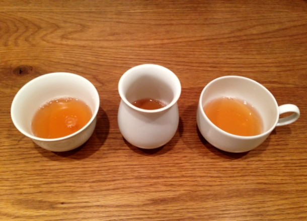 Tasting Master Xu's Golden Buddha at Postcard Teas