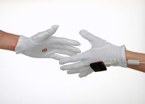 'The Handshake Agreement', prototype wearable payment system