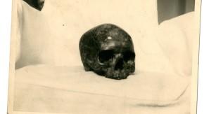 The Screaming Skull! Courtesy of Susanna Pinney