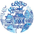 Willow Pattern detail