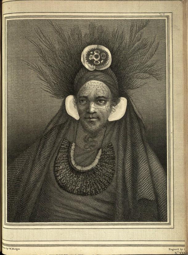 Portrait of a Chief of Saint Christina