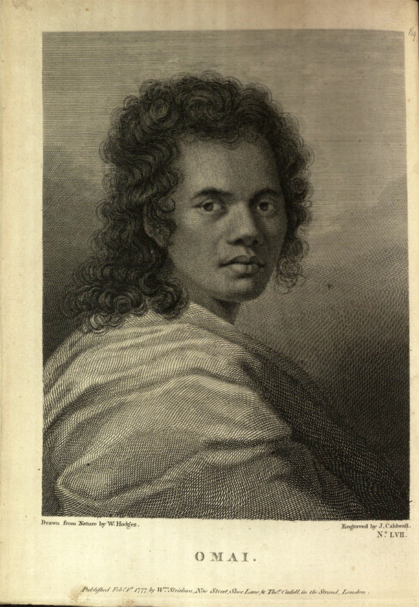 Portrait of Omai