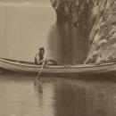V&A: 685-1918 (detail)Photograph of a view of Gejrangerfjord, Søndmør (Norway), taken by  Axel Lindahl