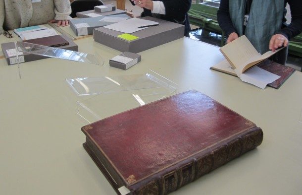 Session in the Book Conservation Studio © Victoria and Albert Museum, London