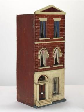 Box Back Terrace dolls' house, B.290-2000 (c) V&A Museum, London