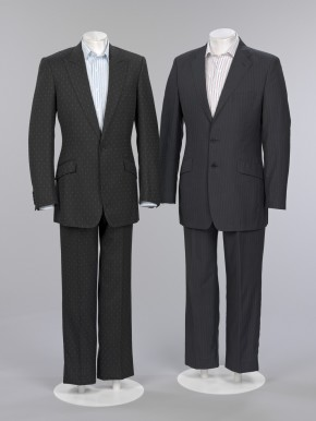 Suits worn by Christopher Breward and James Brook, 2006 © V&A Collection