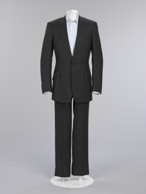 Suit worn by Christopher Breward for his Civil Partnership ceremony, 2006 © V&A Collection